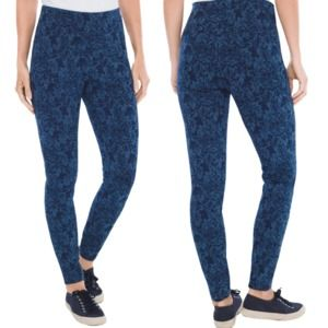 Zenergy So Slimming Paisley Medallion Leggings 0P